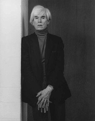 Robert Mapplethorpe  Andy Warhol, 1983