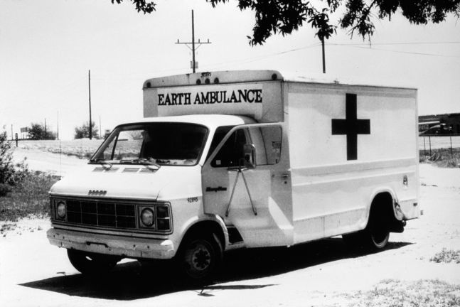 Helène Aylon, The Earth Ambulance, 1982