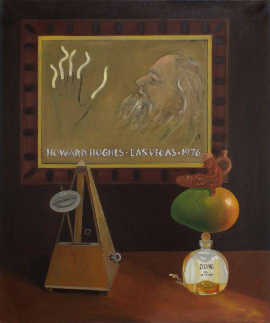 Raul Guerrero, Still Life with Portrait of Howard Hughes, 2012