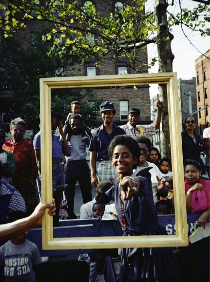 Lorraine O'Grady, Art is...(Girl Pointing), 1983/2009