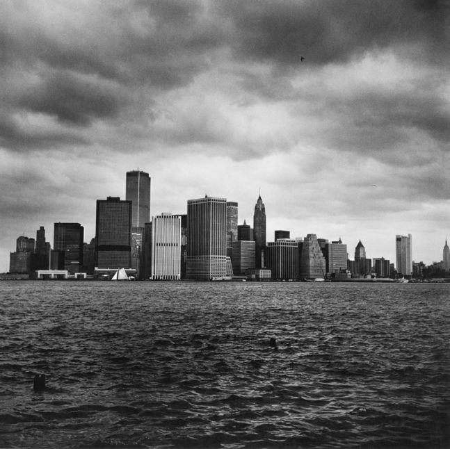 Lower Manhattan from the Harbor, 1976