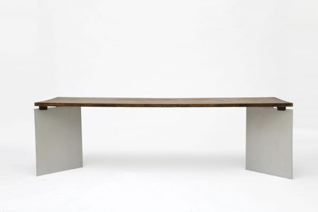 "Jean Paul Barray - ""Hommage à Le Corbusier - Chandigarh"" table, 1965"