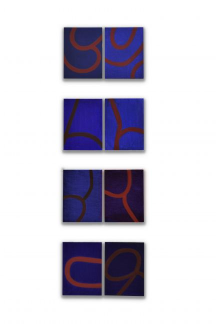 Image of Blue Column Three