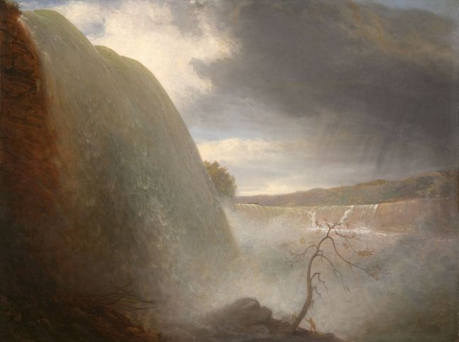 Rembrandt Peale (1778–1860), Falls of Niagara, Viewed from the American Side, 1831, oil on canvas, 18 1/4 x 24 1/8 in.