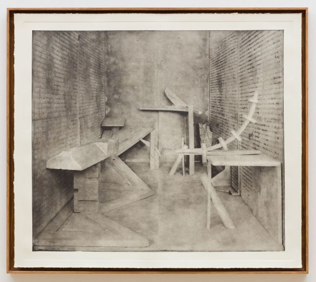 Stature photogravure No. 6 by Rodrigo Valenzuela