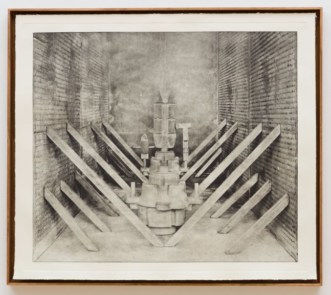 Stature photogravure No. 5 by Rodrigo Valenzuela