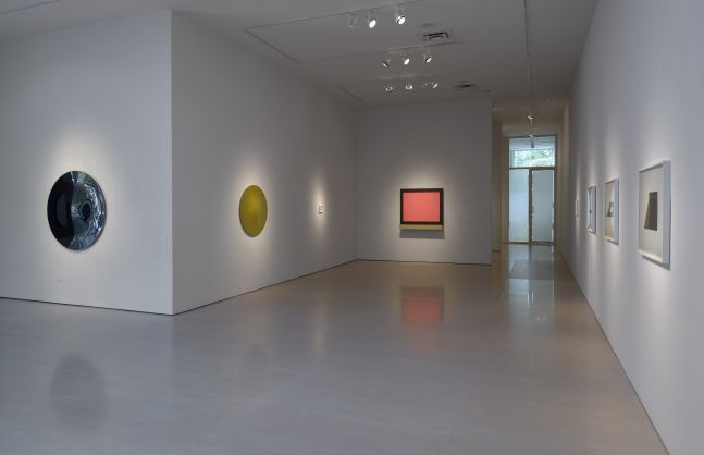 Installation view of Definition; looking toward the north