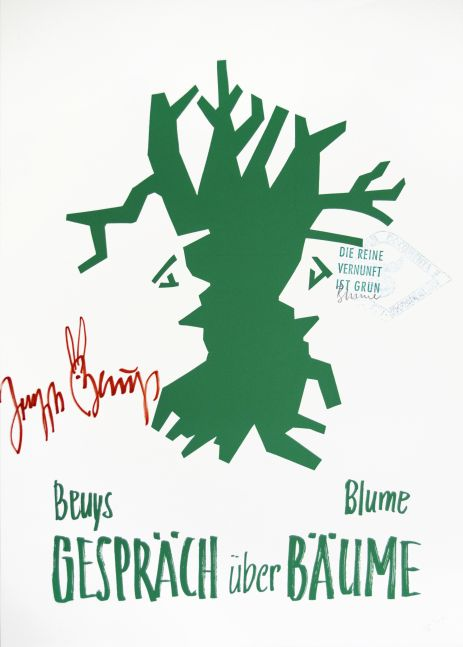 Beuys 1000 Trees Poster