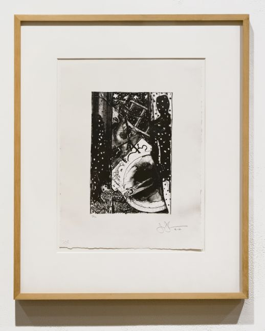 Jasper Johns Winter, 1986-89