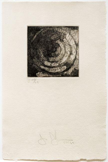 Jasper Johns Target II, 1967-69