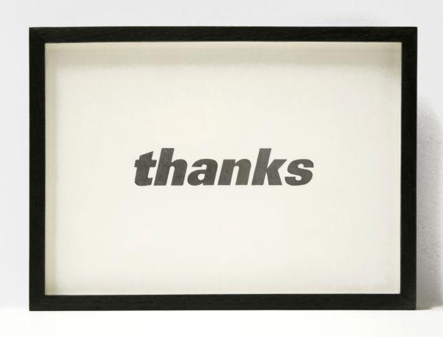 Allan McCollum: Visible Markers (Drawing) #342