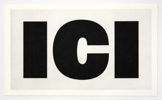 Remy Zaugg ICI, 1988/94