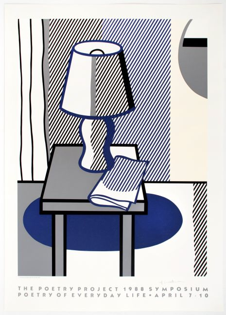 Roy Lichtenstein The Poetry Project Symposium Poster