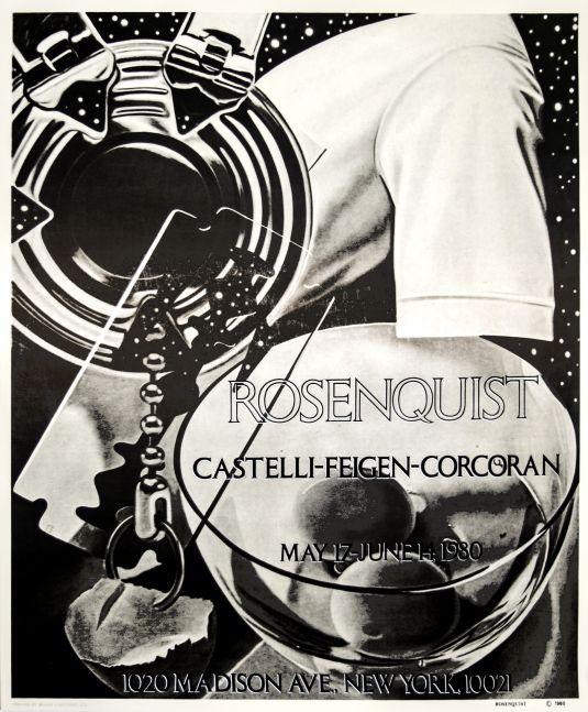 James Rosenquist Exhibition Poster