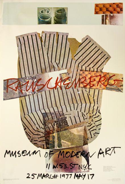 Robert Rauschenberg Museum of Modern Art