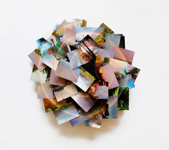 Peter Coffin Untitled (Spiral Pop-up Photo Album)