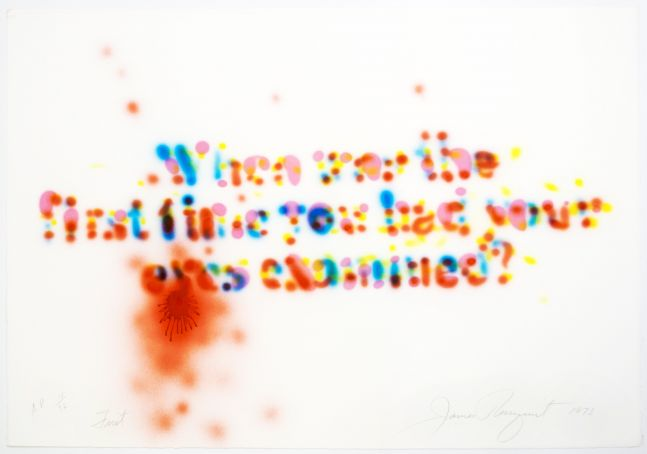 James Rosenquist: First, 1973
