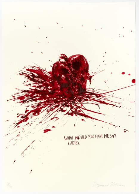 Raymond Pettibon: Untitled (What would you have me say)