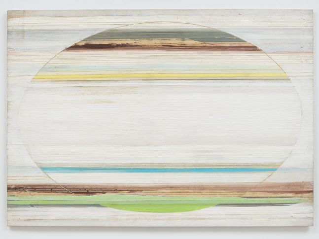 Ed Clark Untitled 1974-75 acrylic on canvas 57 1/4 x 80 1/4 inches (144.8 x 203.2 cm)