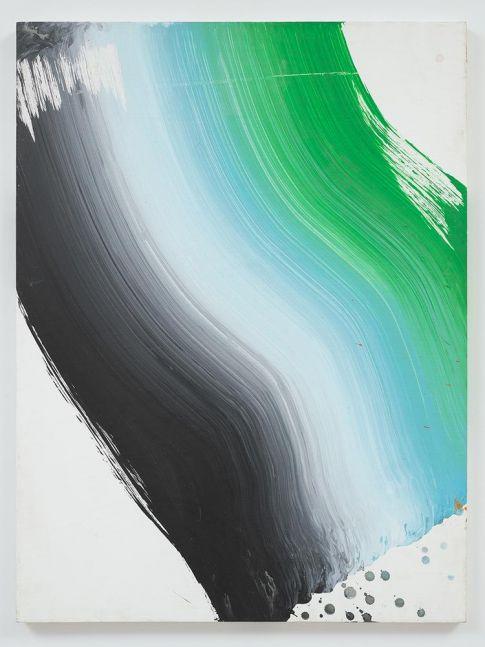 Ed Clark The Tilt 2006 acrylic on canvas 40 x 30 inches (101.6 x 76.2 cm)
