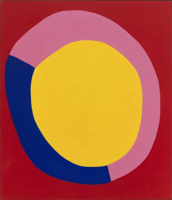 Jules Olitski Thursday 1962 acrylic on canvas 90 x 78 inches (228.6 x 198.1 cm)