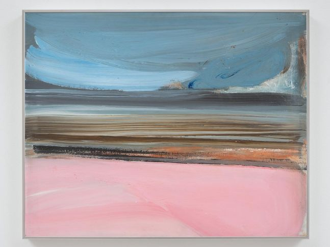 Ed Clark Untitled 1985 acrylic on canvas 24 x 30 inches (61 x 76.2 cm)