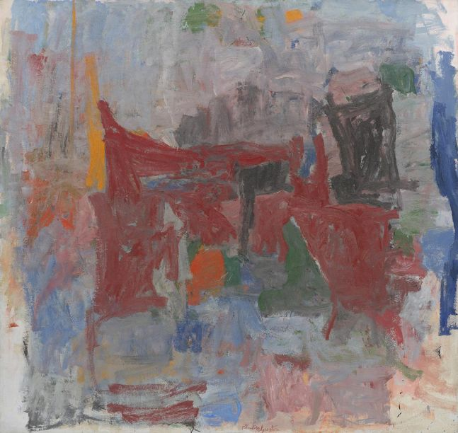 Philip Guston Branch 1956-58 oil on canvas 71 7/8 x 76 inches (182.6 x 193 cm)