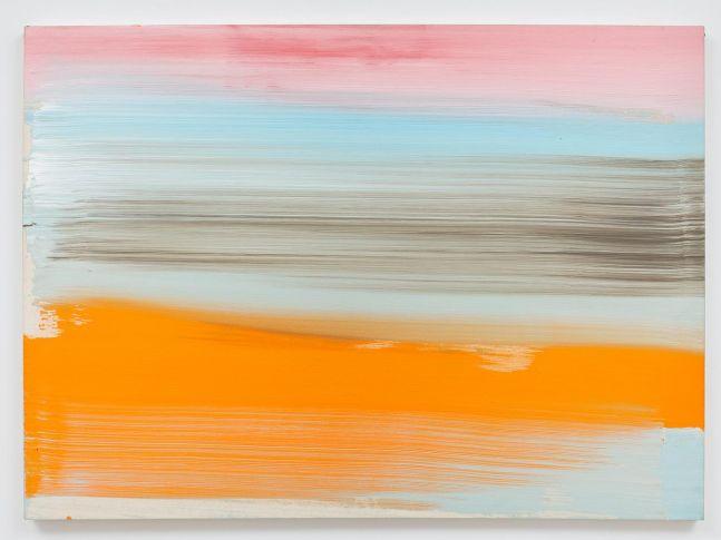 Ed Clark Untitled 2007 acrylic on canvas 44 x 60 1/4 inches (111.8 x 149.9 cm)