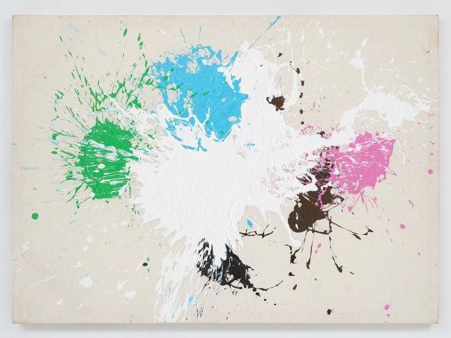 Ed Clark Untitled 2006 acrylic on canvas 47 7/8 x 66 inches (121.6 x 167.6 cm)