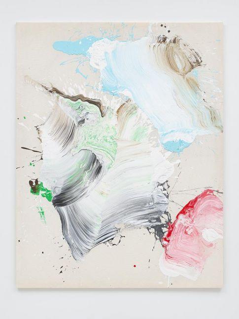 Ed Clark Untitled c. 2000s acrylic on canvas 80 1/2 x 62 3/4 inches (205.7 x 160 cm)