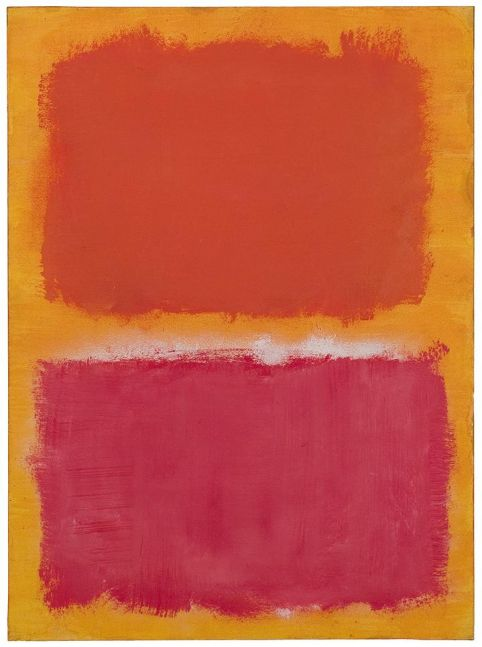 Mark Rothko Untitled 1959 oil on paper mounted on board 30 x 22 inches (76.2 x 55.9 cm)