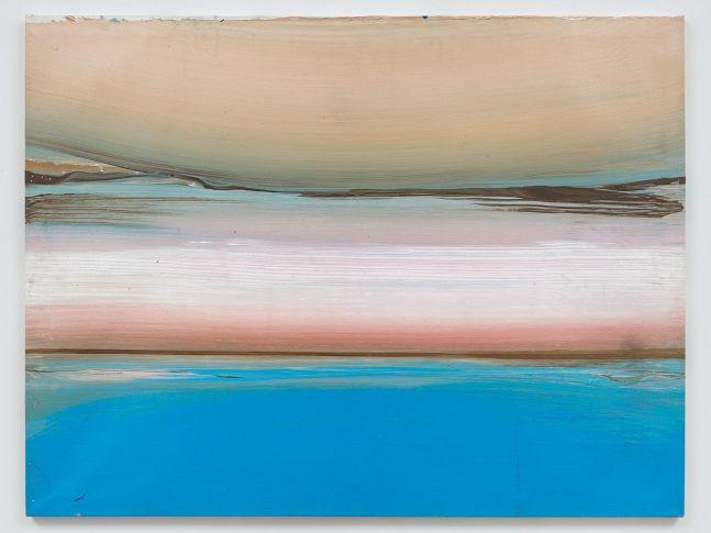 Ed Clark Untitled (Bahia Series) 1991 acrylic on canvas 38 x 50 inches (95.3 x 127 cm)