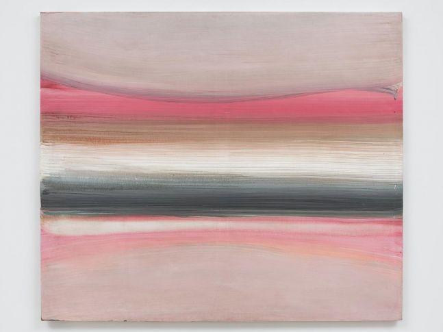 Ed Clark Untitled (Paris Series) 1983 acrylic on canvas 47 1/8 x 55 1/8 inches (119.4 x 146.1 cm)