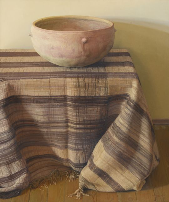 Saharan Vessel, 1994, oil on canvas, 47 1/4 x 39 1/2 inches