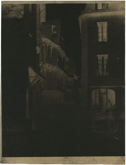 Louis-Rémy ROBERT (French, 1810-1882) Lamballe, North Brittany, 1852-1854 Paper negative 32.5 x 26.2 cm