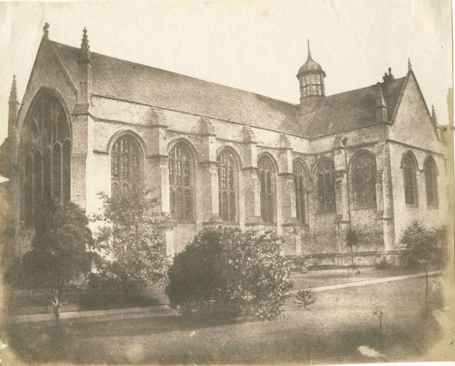 Nevil STORY-MASKELYNE (English, 1823-1911) Wadham College, Oxford Salt print from a paper negative 17.7 x 21.8 cm