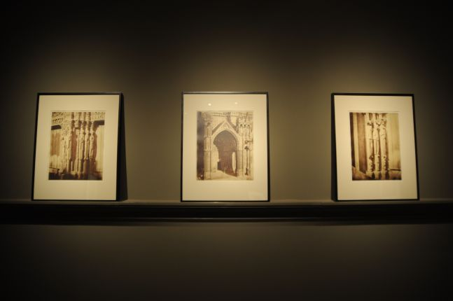 Chartres Cathedral by Le Secq, Nègre and Bisson Frères Gallery Installation View