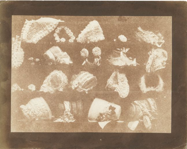 William Henry Fox TALBOT (English, 1800-1877) The milliner's window, circa 1844 Salt print from a calotype negative 14.4 x 19.6 cm on 18.3 x 22.9 cm paper
