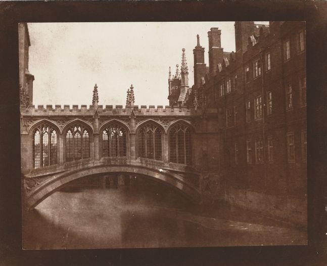 William Henry Fox TALBOT (English, 1800-1877) Bridge of Sighs, St. John's College, Cambridge*, circa 1845 Salt print from a calotype negative 16.4 x 20.8 cm