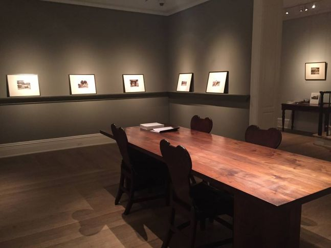Hugh Owen Rediscovered Exhibition Installation View