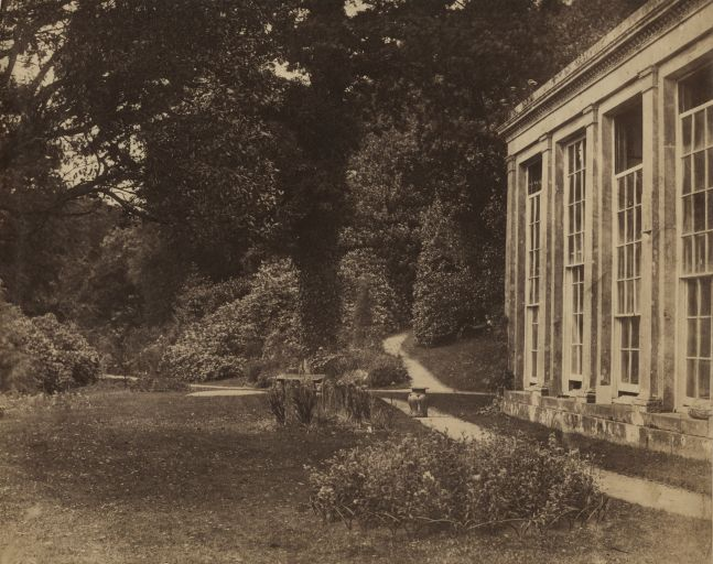 John Dillwyn LLEWELYN (Welsh, 1810-1882) The Orangery at Penrice, seat of Christopher Rice Mansel Talbot, MP, circa 1854 Albumen print from a collodion negative 19.0 x 24.2 cm