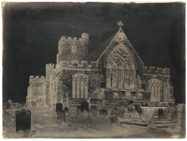 Benjamin Brecknell TURNER (English, 1815-1894) East end, Hawkhurst Church, Kent, 1852-1854 Waxed calotype negative 29.9 x 39.8 cm