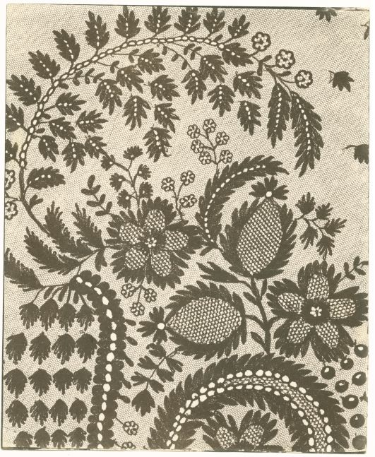 William Henry Fox TALBOT (English, 1800-1877) Lace, early 1840s Salt print from a photographic drawing negative, 22.7 x 18.7 cm