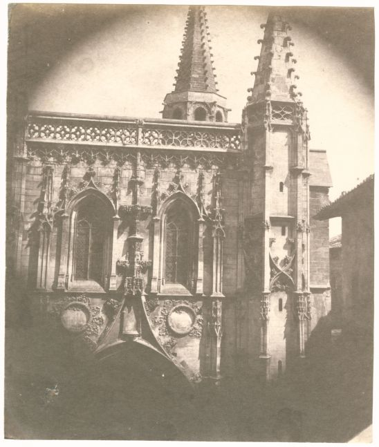 Charles NÈGRE (French, 1820-1880) Saint Pierre Basilica, Avignon, 1852 Salt print from a waxed paper negative 18.5 x 15.6 cm