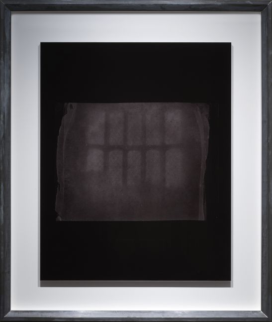 """Hiroshi SUGIMOTO (Japanese, b. 1948) """"An Oriel Window at Lacock Abbey, probably Summer 1835"""", 2010 Toned gelatin silver print 93.7 x 74.9 cm Edition 1/10 Signed on label on frame verso"""