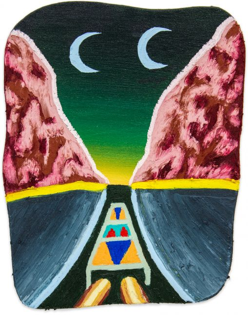 Eliot Greenwald, Night Car (seasonal figure 4)