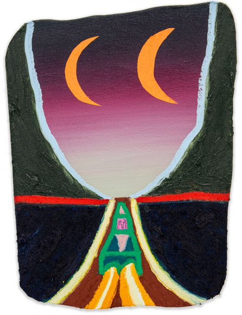 Eliot Greenwald, Night Car (seasonal figure 3)