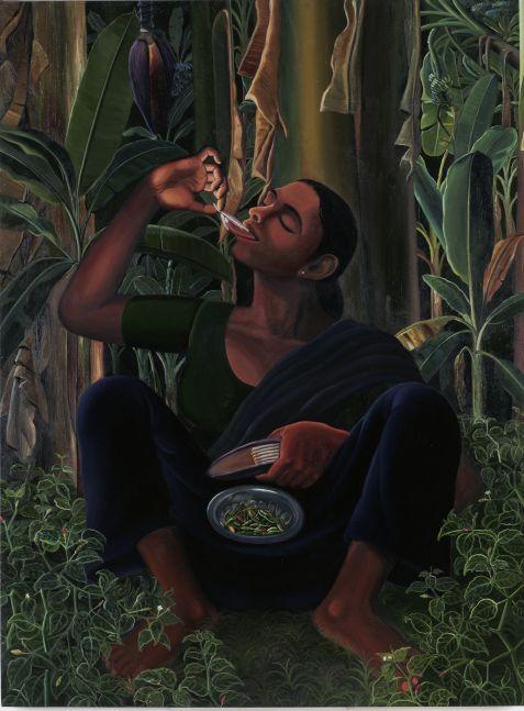 RATHEESH T., Leela, 2007, Oil on canvas, 92 x 122 cm / 36 x 48 in