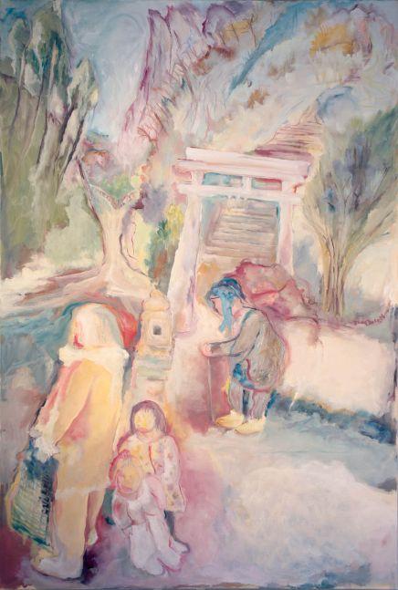 Sosa Joseph, Fisherman, 2016, oil on canvas, 36 x 24 in / 91.4 x 60.9 cm