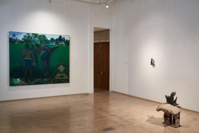 Ratheesh T, Sakshi Gupta, Installation View